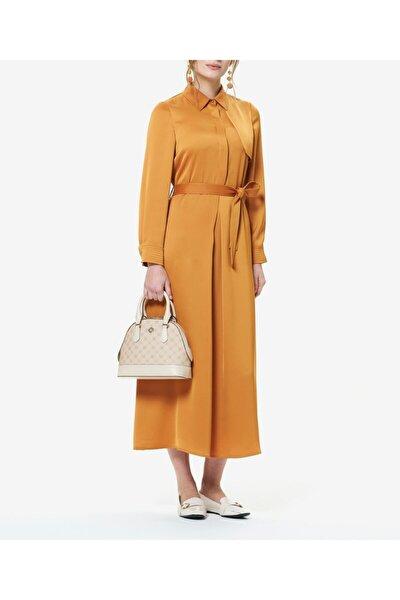 Turuncu Elbise T44299146