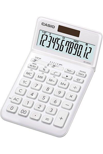 Jw-200sc-we 12 Hane Beyaz Masa Üstü Hesap Makinesi