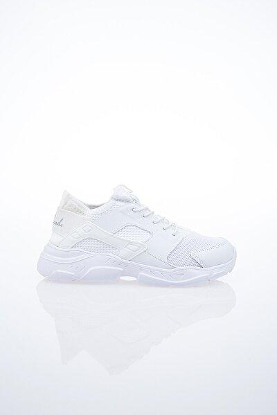 PC-30043 Beyaz Unisex Spor Ayakkabı