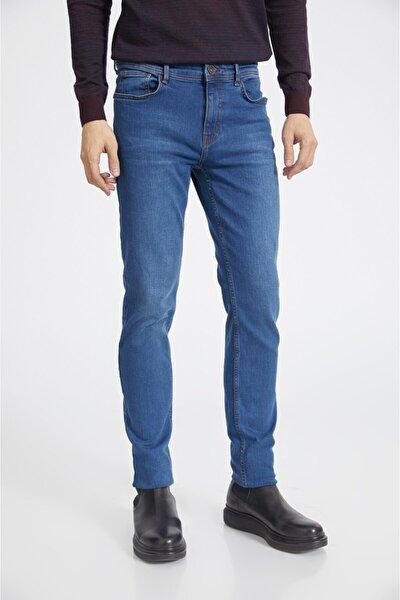 Erkek Mavi Slim Fit Jean Pantolon A02y3590