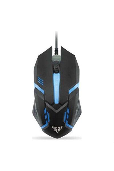Sm-g62 Usb Siyah Işıklandırmalı Oyuncu Mouse