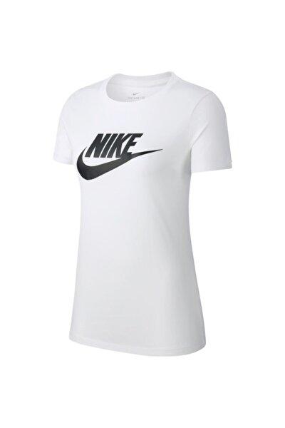 Nıke W Nsw Tee Essntl Icon Futur Kadın Tişört