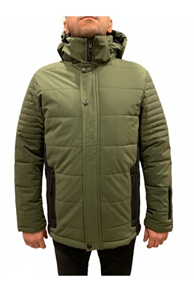 H Winter Ski Jacket M Erkek Yeşil Mont 2011164-21