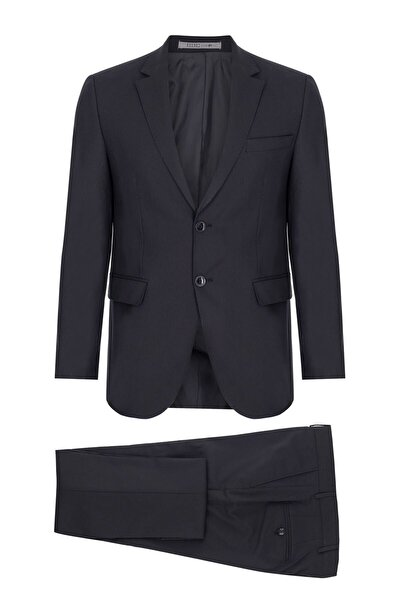 Erkek K.lacivert Regularfıt / Rahat Kalıp Std Takım Elbise