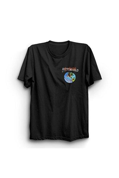 Travis Scott Astroworld Baskılı Tshirt