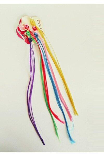 Kız Çocuk 6 Farklı Renk Çıtçıt Mandal Toka