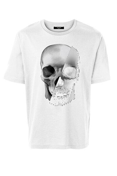 Erkek Kuru Kafa Beyaz Tshirt - 12195745