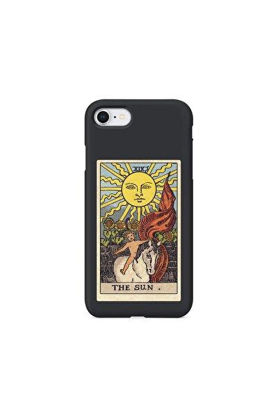 Iphone 7 Siyah Lanman The Sun Baskılı Telefon Kılıfı