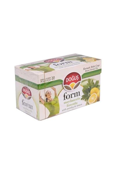 Form Maydanoz Limon Bitki Çay Süzen Poşet 20'li