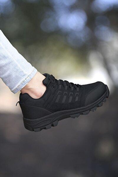Siyah Kadın Trekking Ayakkabı 0012x5