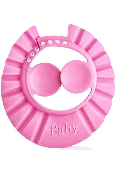 Bebek Banyo Şapkası Bebek Duş Şapkaları Çocuk Bebek Şapkası Pembe