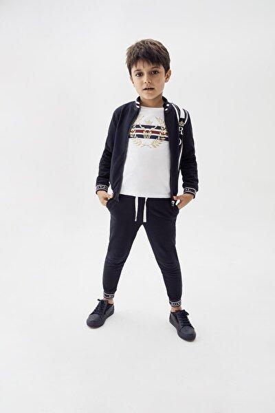 Erkek Çocuk Lacivert Eşofman Altı 20fw0nb3214