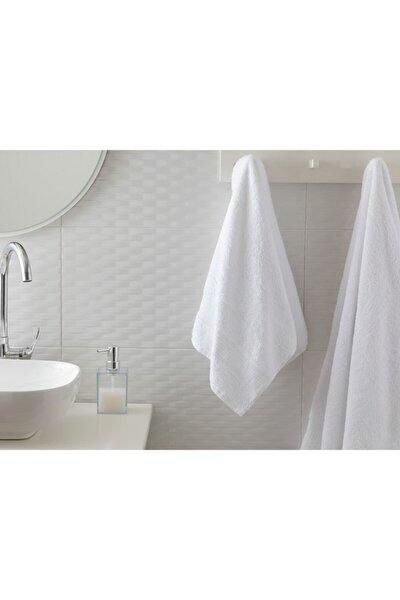 Pure Basic Yüz Havlusu 50X90 Cm Beyaz