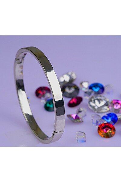 Novella Takı Paslanmaz Metal Cartier Bileklik Bilezik 18 Cm
