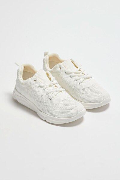 Kadın Beyaz Aktif Spor Ayakkabı
