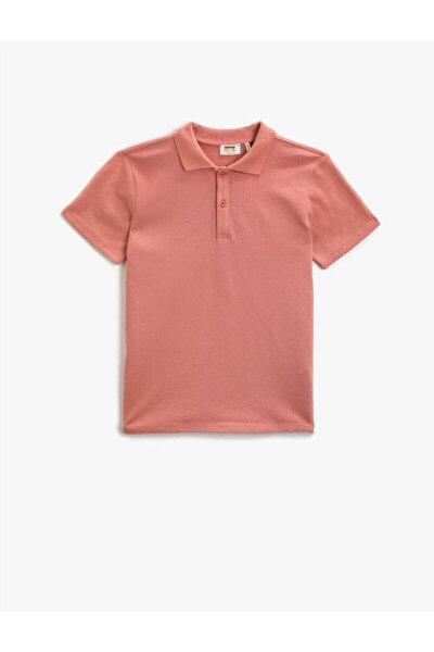 Erkek Çocuk Pembe T-Shirt