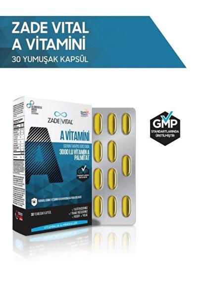 A Vitamini 30 Yumuşak Kapsül - Blister