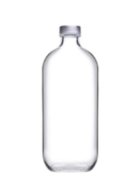 Iconıc Su Şişesi Cam 1 lt