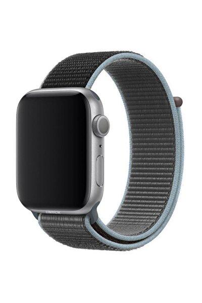 Apple Watch 2 3 4 5 42 Mm 44 Mm Hasır Dokuma Spor Loop Kordon