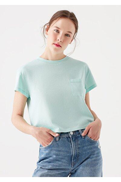 Cepli Yeşil Basic Tişört