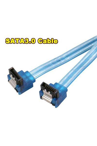 Sata 3.0 Kablo Hdd Harddısk Ssd Sata3 Data Kablo - 2 Ucu L Model