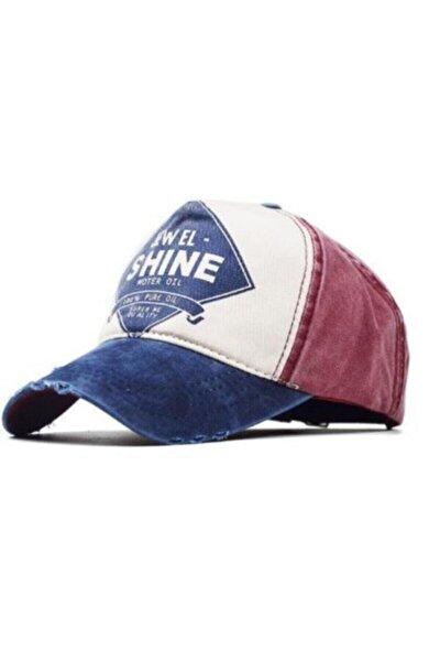 Jewel Shine Beyzbol Şapka Eskitme 2019 Model Şapka Lacivert