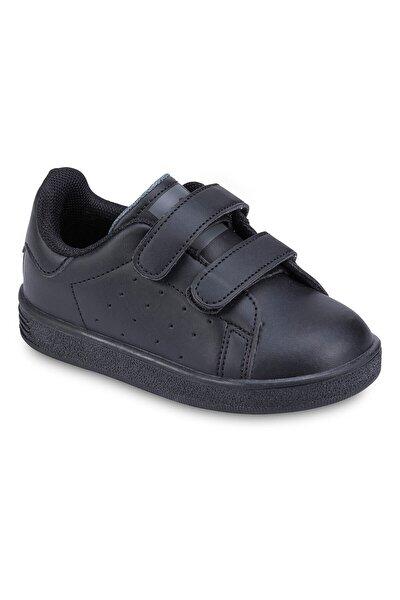 Siyah Gri Çocuk Sneaker 190 19422B