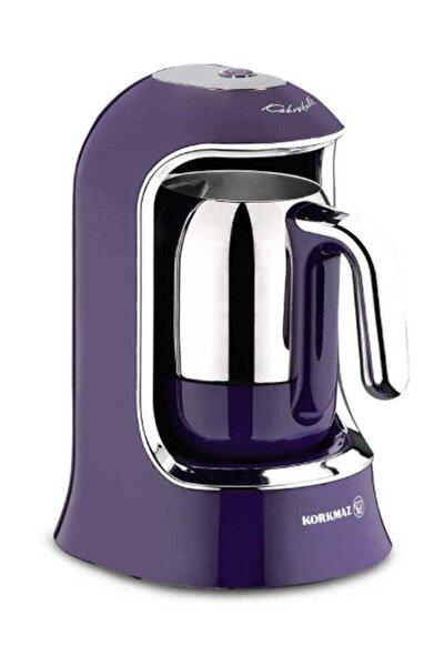 Kahvekolik Lavanta Otomatik Kahve Makinesi A860-01