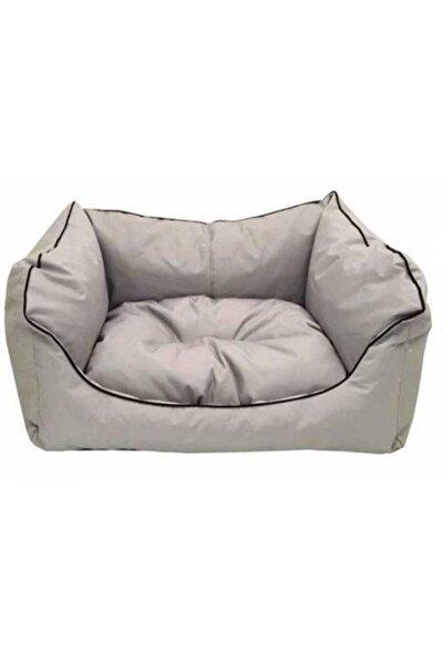 Plus Kare Silinebilir Kedi Köpek Yatağı 60x50x17 cm Karışık Renkler Yıkama Garantili