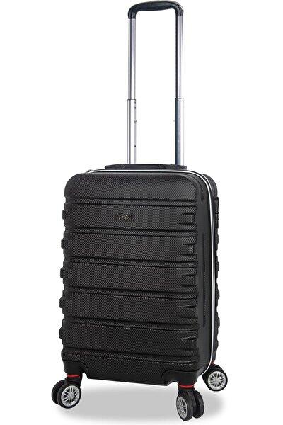 Siyah Unisex Kabin Boy Valiz K-FSLVLZ-11116