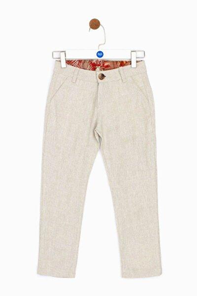 Erkek Çocuk Bej Pantolon