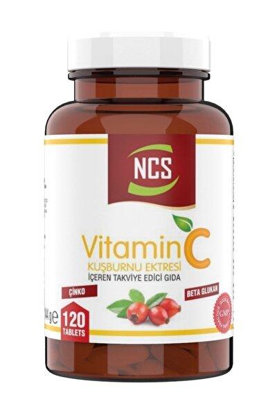 C Vitamini 1000 mg 120 Tablet Kuşburnu Beta Glukan Vitamin C