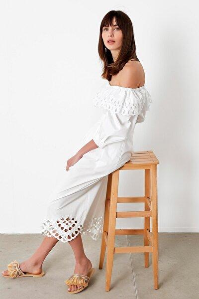 Kadın Beyaz Beyaz İş Bluz IS1200006197002