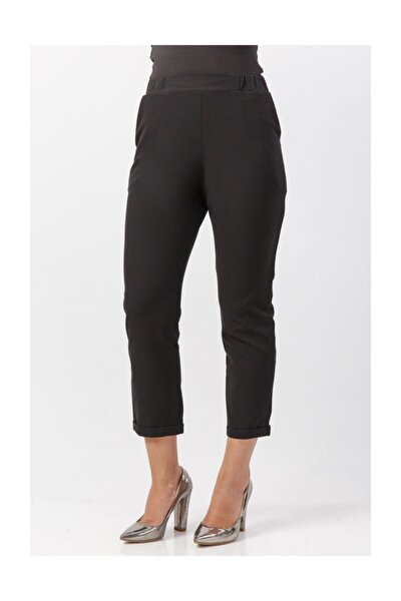 Kadın Siyah Pantolon TSD2097
