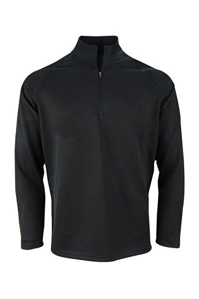 Spor Yarım Fermuarlı Sweatshirt