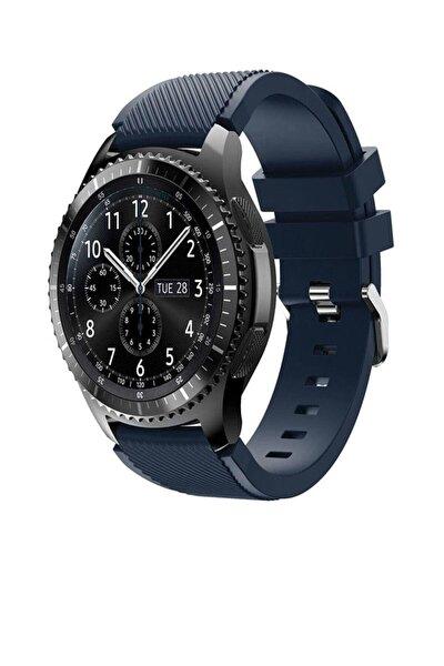 Samsung Watch Gear S3 Frontier 46mm Sport Kordon Silikon Lacivert