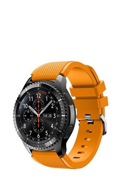 Huawei Watch Gt 46mm Sport Kordon Silikon Turuncu