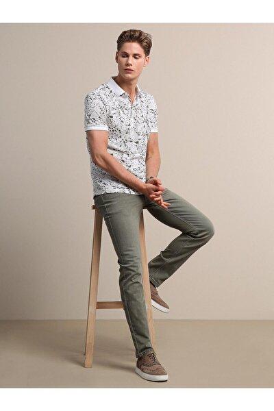 Erkek Koyu Yeşil Denim Pantolon KP10120719
