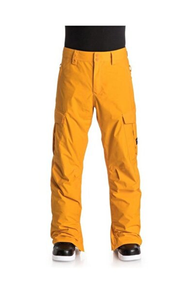 Porter Ins Erkek Kayak ve Snowboard Pantolonu Sarı