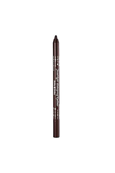 Jewel-Light Waterproof Kahverengi Çikolata Eyeliner
