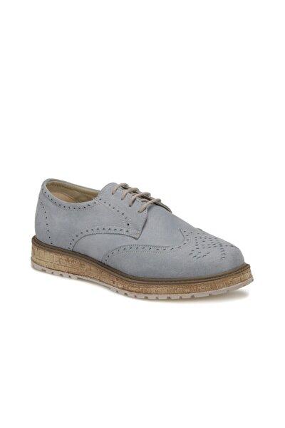 19S-259 Mavi Kadın Oxford Ayakkabı 100371436