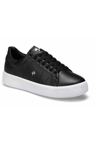 Sophian Pu Siyah Kadın Sneaker Spor Ayakkabı