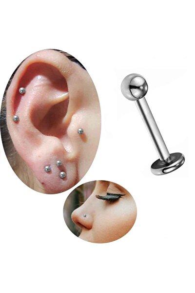 Cerrahi Çelik Kulak-dudak-burun Piercing (bar Uzunluğu 10 Mm)