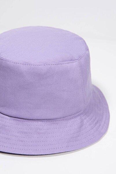 Kadın Lila Şapka ŞPK507 - AKS ADX-0000021483