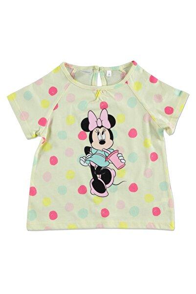 Yaz Kız Bebek Minnie Mouse Tshirt