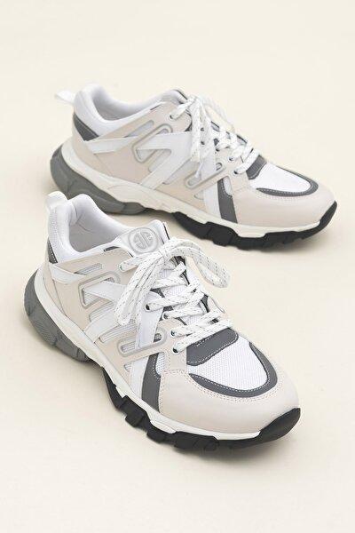 BARDEN Beyaz Erkek Sneaker 20YBB194