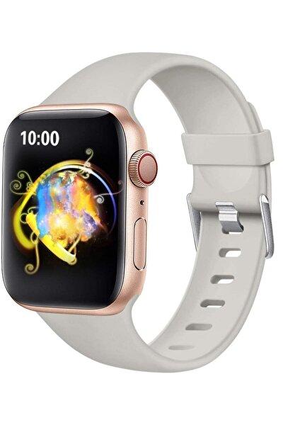 Apple Watch 2 3 4 5 - 38 - 40 Mm Silikon Kordon Kayış