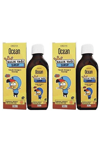 Balık Yağı Portakal Aromalı Omega 3 Kral Şakir 150 ml 2 Adet
