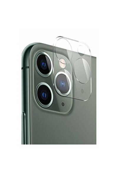 Apple Iphone 11 Pro Kamera Koruyucu Tempered Glass
