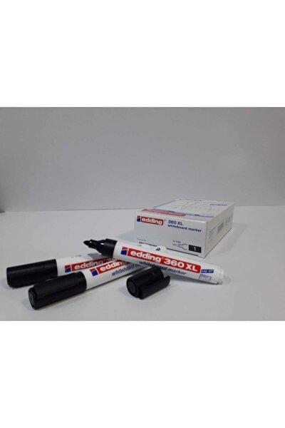 Whiteboard Marker Silinebilir Beyaz Tahta Kalemi Siyah 10'lu Paket